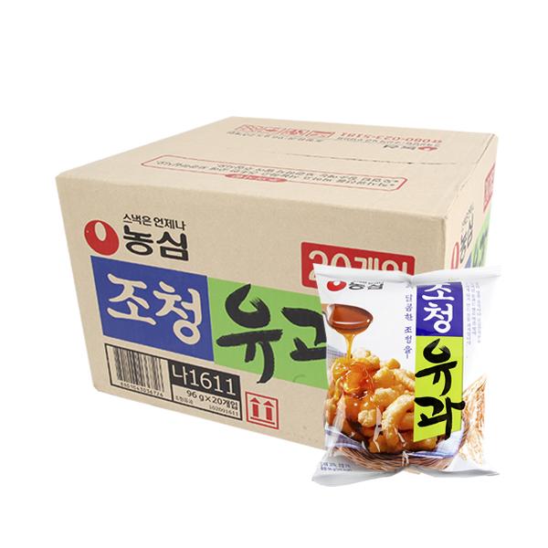 농심 조청유과96g(20개)이식사