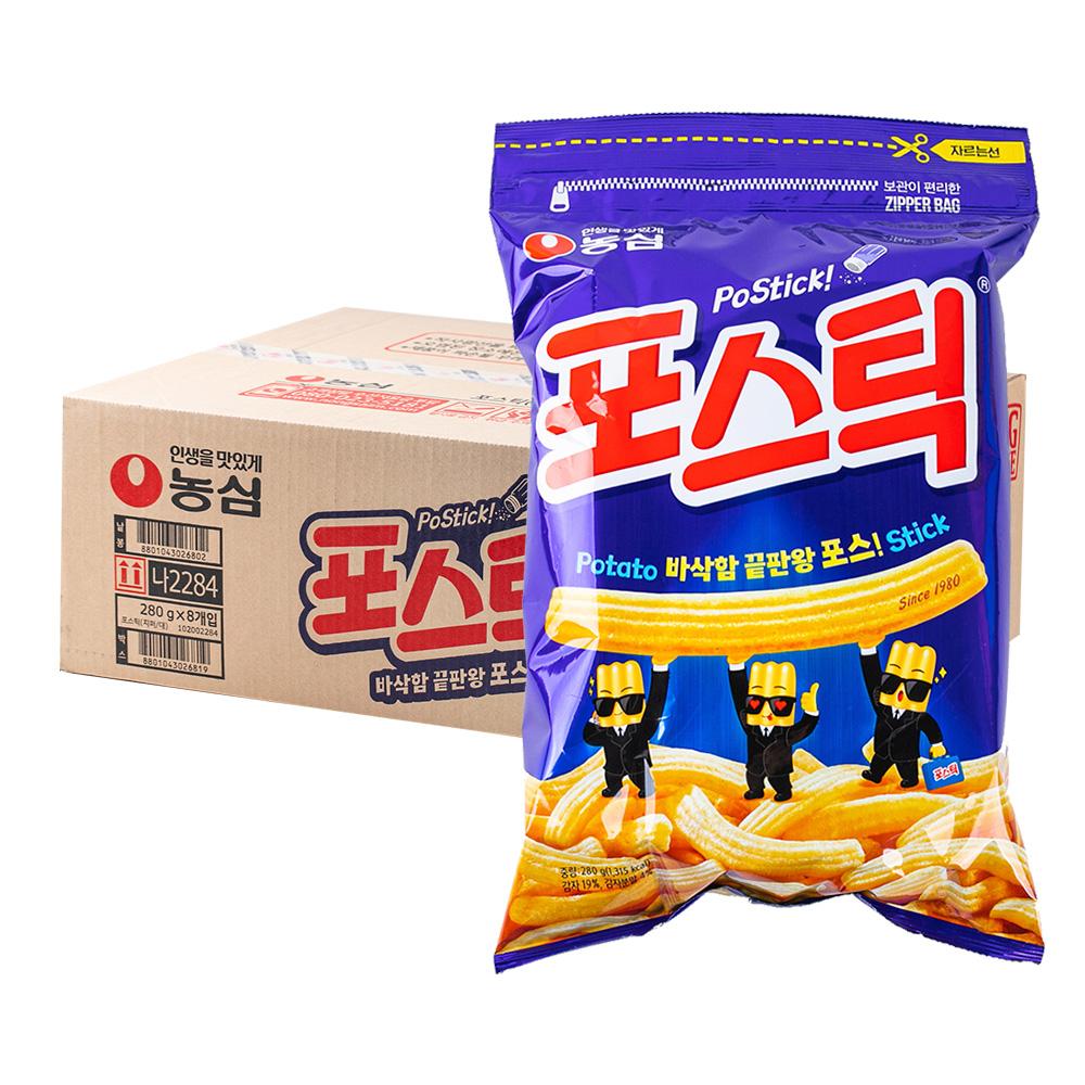 농심 포스틱270g(8개)이식사