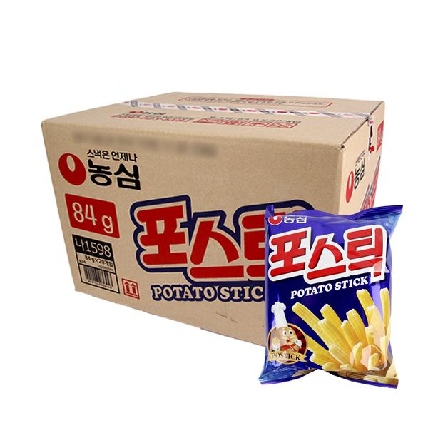 농심 포스틱84g(20개)이식사