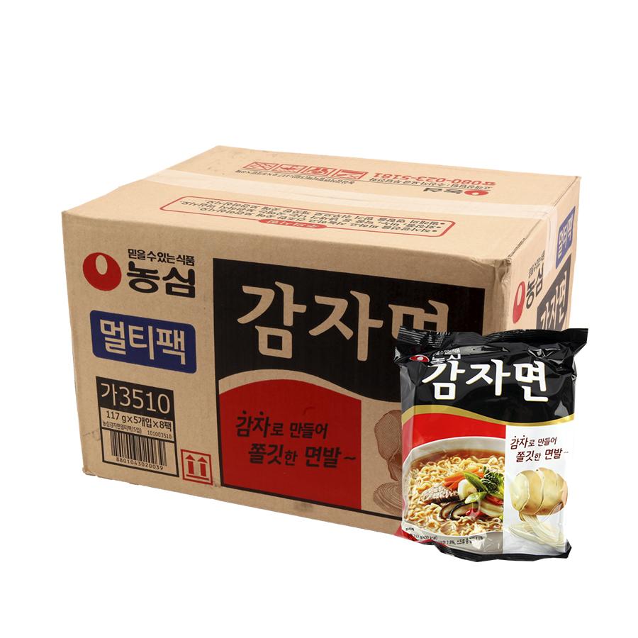 농심 감자면117g(40개)이식사