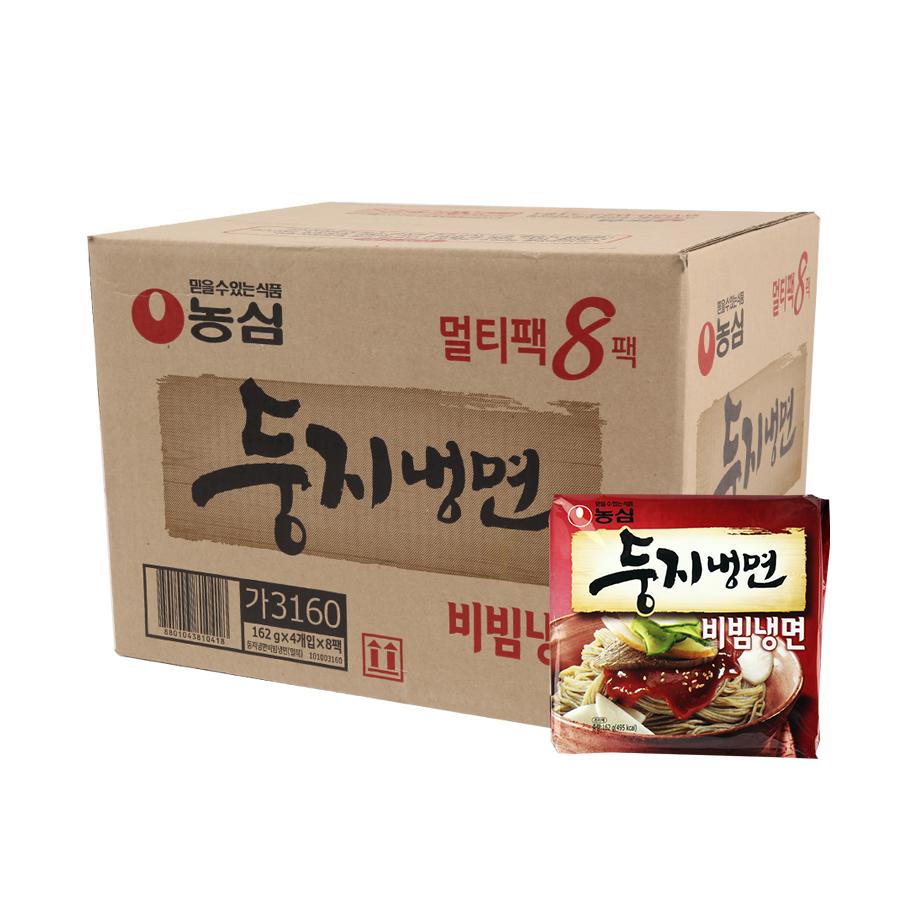 농심 둥지비빔냉면162g(32개)이식사
