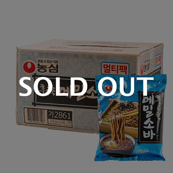 농심 메밀소바127g(40개)이식사