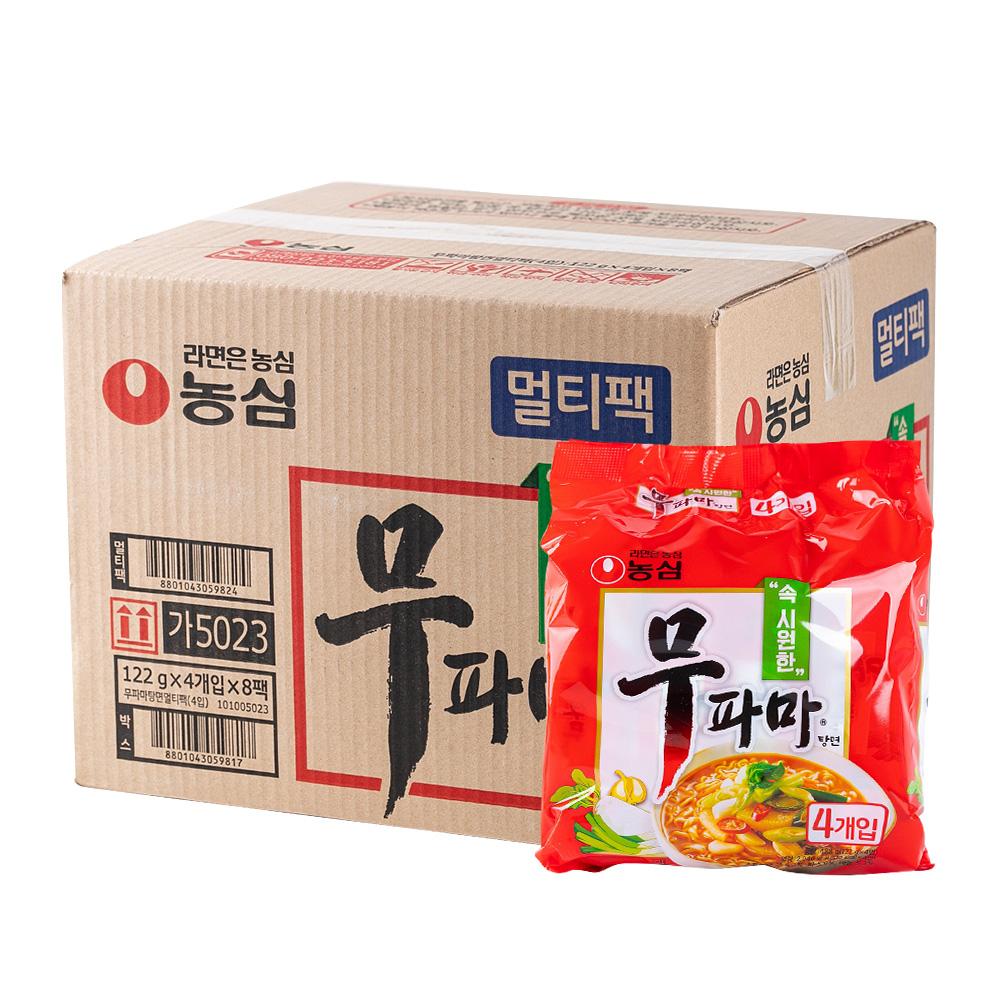 농심 무파마122g(40개)이식사