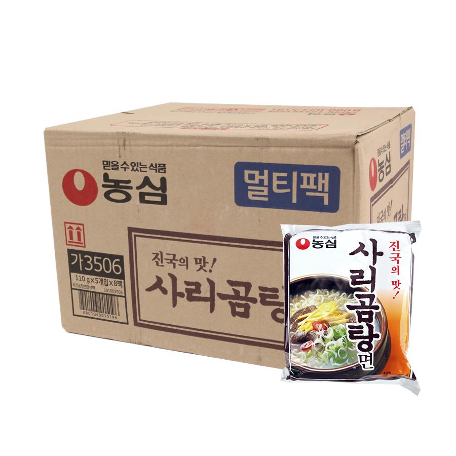 농심 사리곰탕110g(40개)이식사