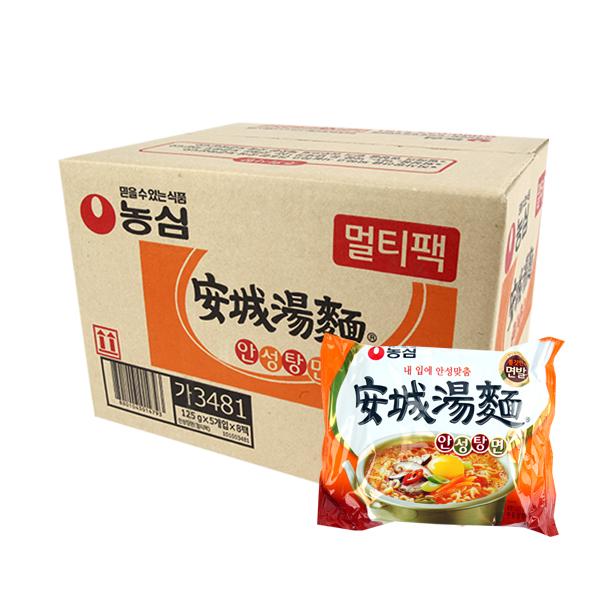 농심 안성탕면125g(40개)이식사