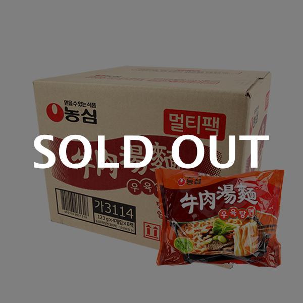 농심 우육탕면123g(32개)이식사