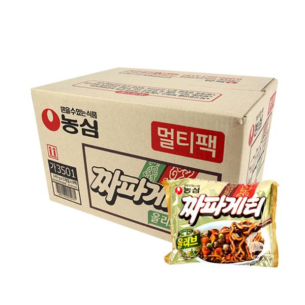 농심 짜파게티140g(40개)이식사
