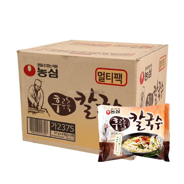 농심 후루룩칼국수97g(32개)이식사