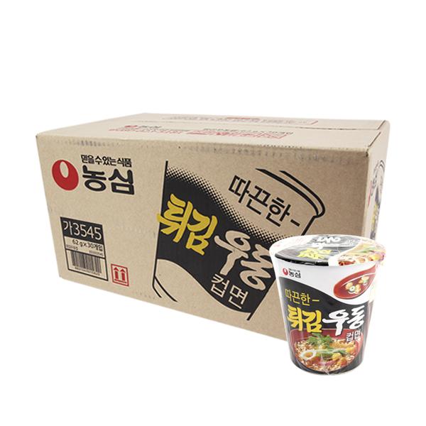 농심 튀김우동소컵62g(30개)이식사
