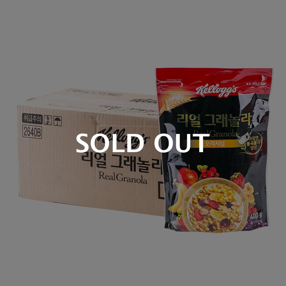 켈로그 리얼그래놀라400g(15개)이식사