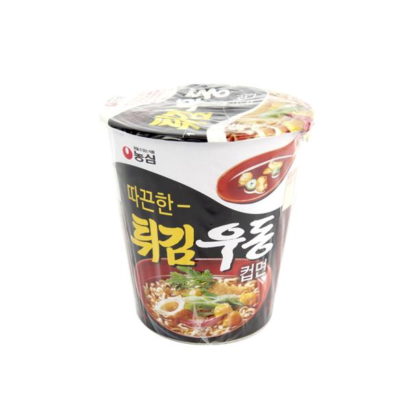 농심 튀김우동소컵62g