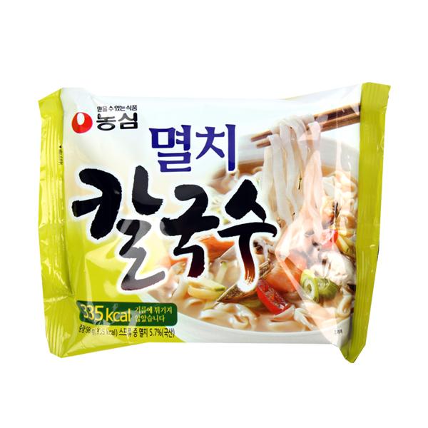 농심 멸치칼국수98g이식사