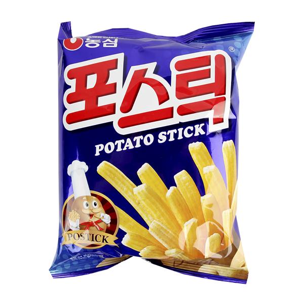 농심 포스틱84g이식사
