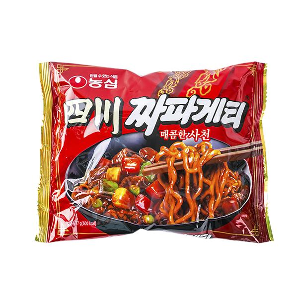 농심 사천짜파게티137g이식사