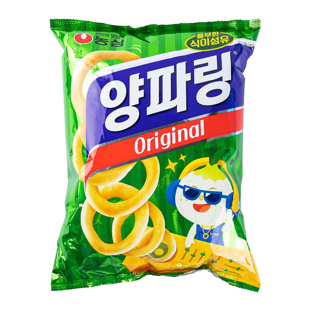 농심 양파링155g이식사