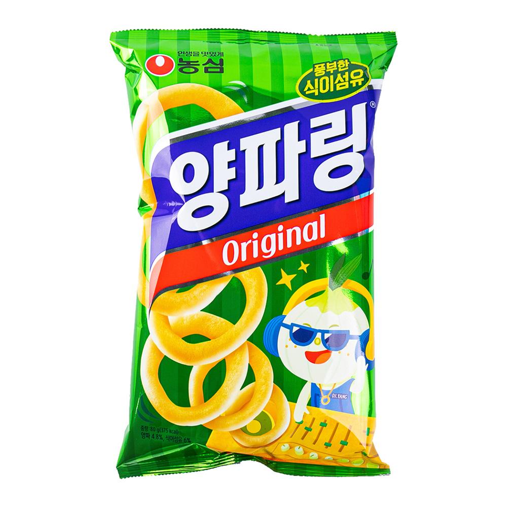 농심 양파링84g이식사