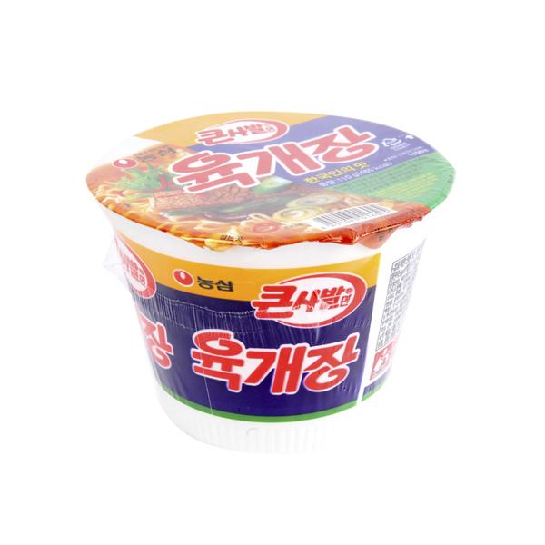 농심 육개장 큰사발110g이식사