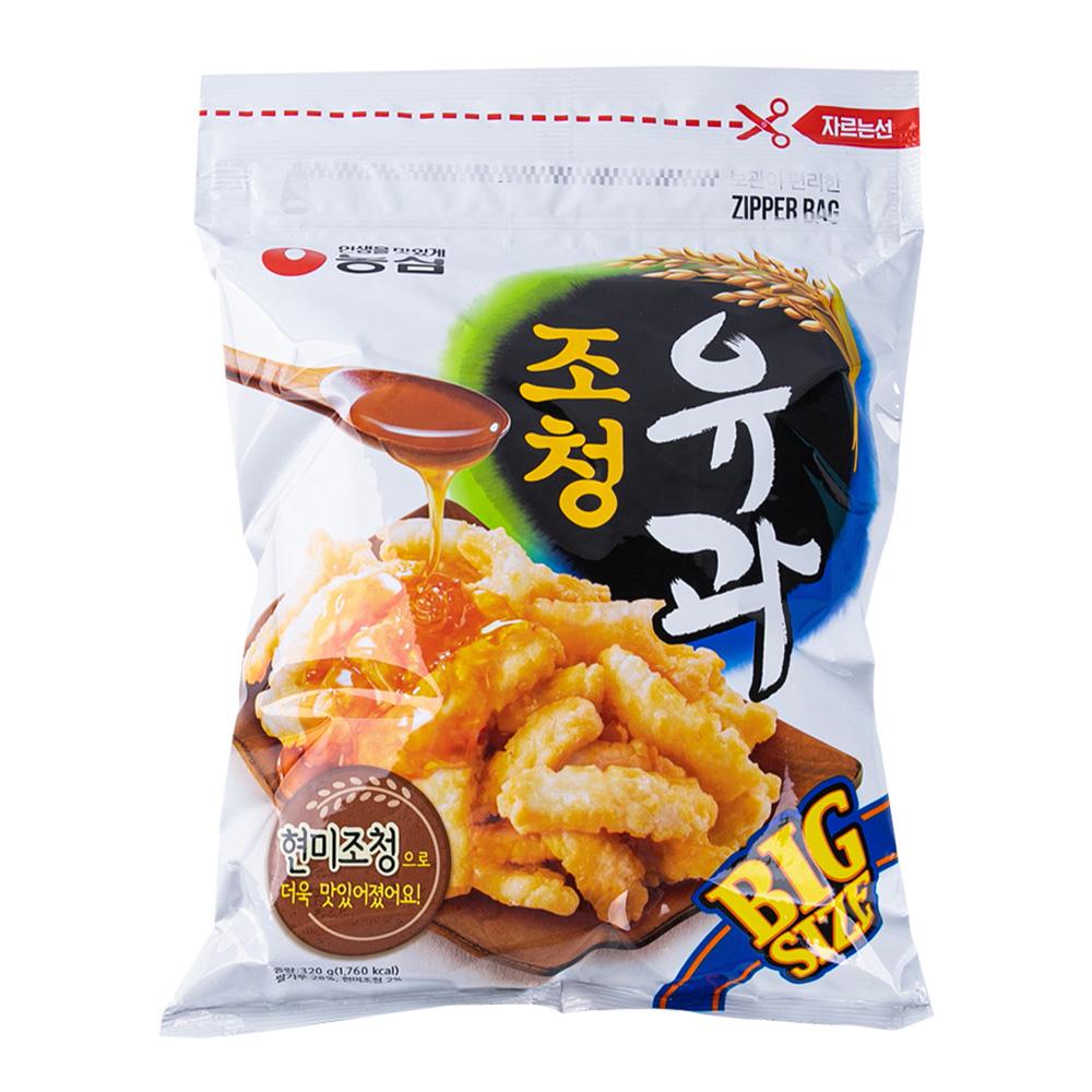 농심 조청유과300g이식사