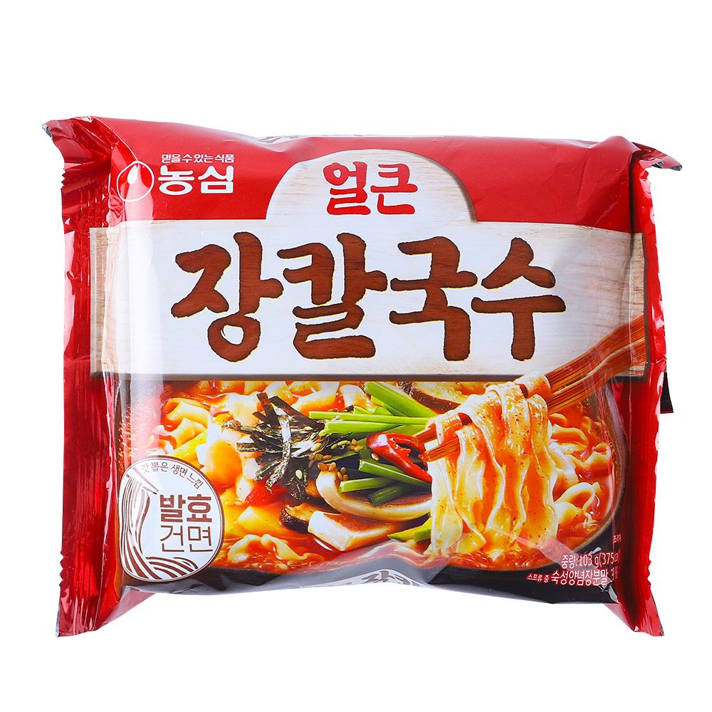 농심 얼큰장칼국수103g이식사