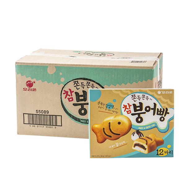 오리온 참붕어빵 232g(8개) (박스)이식사