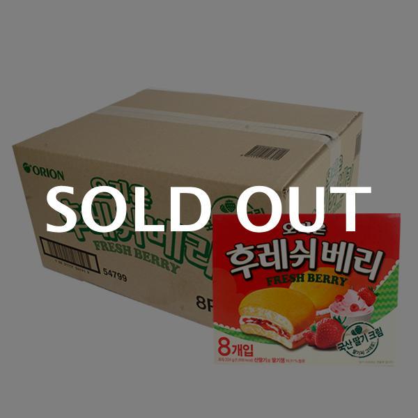 오리온 후레쉬베리224g(12개)이식사