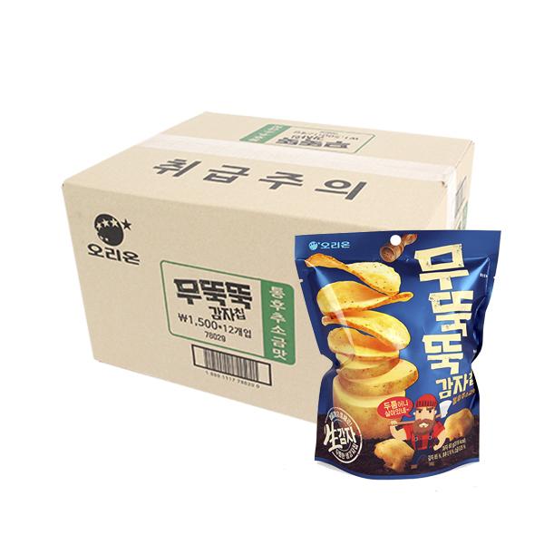 오리온 무뚝뚝감자칩 60g(12개)이식사