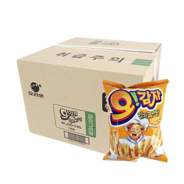 오리온 오감자오리지널 50g(12개)이식사