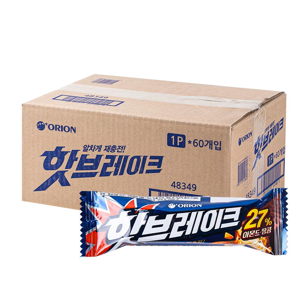 오리온 핫브레이크 50g(60개) (박스)이식사