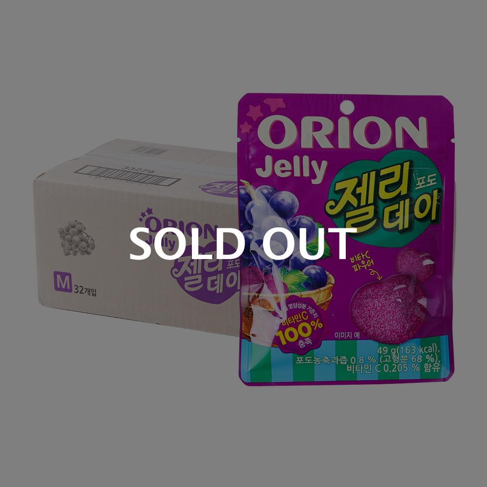 오리온 젤리데이포도 49g(32개)이식사