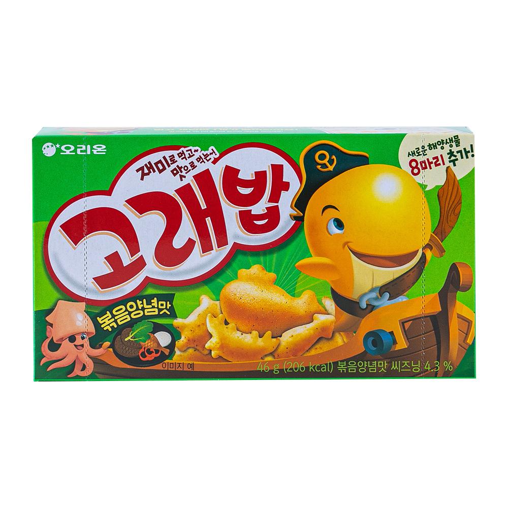 오리온 고래밥 40g이식사