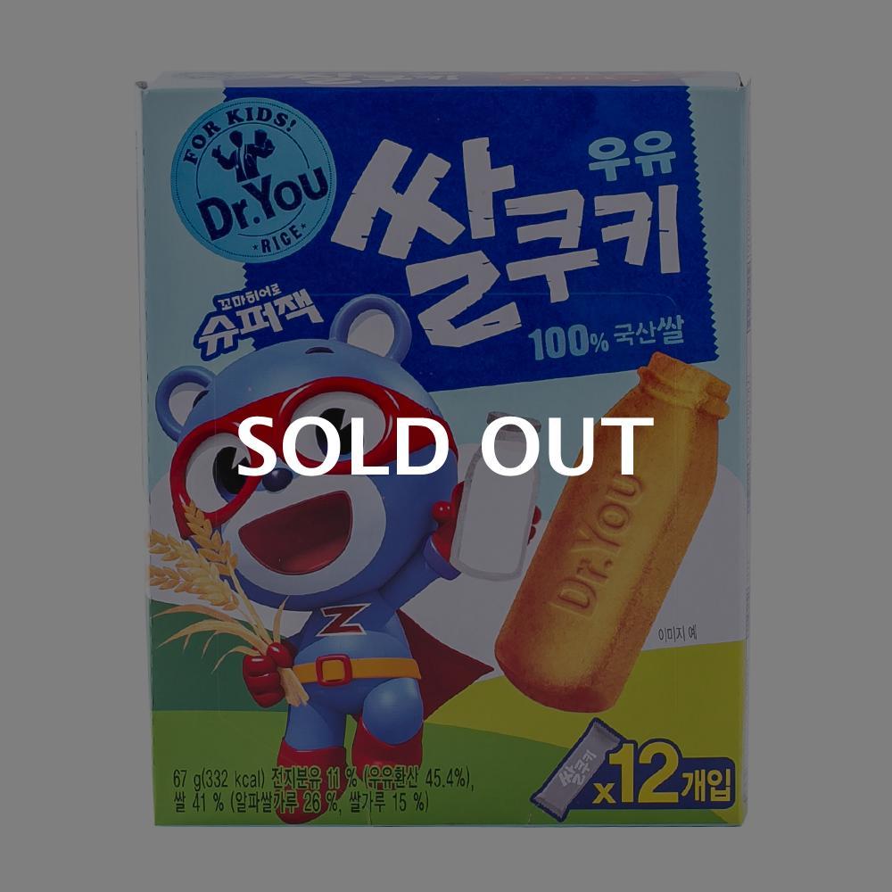 오리온 닥터유 우유쌀쿠키 67g