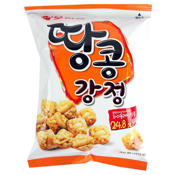 오리온 땅콩강정 80g이식사