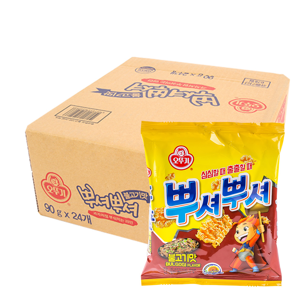 오뚜기 뿌셔뿌셔(불고기)90g(24개)이식사
