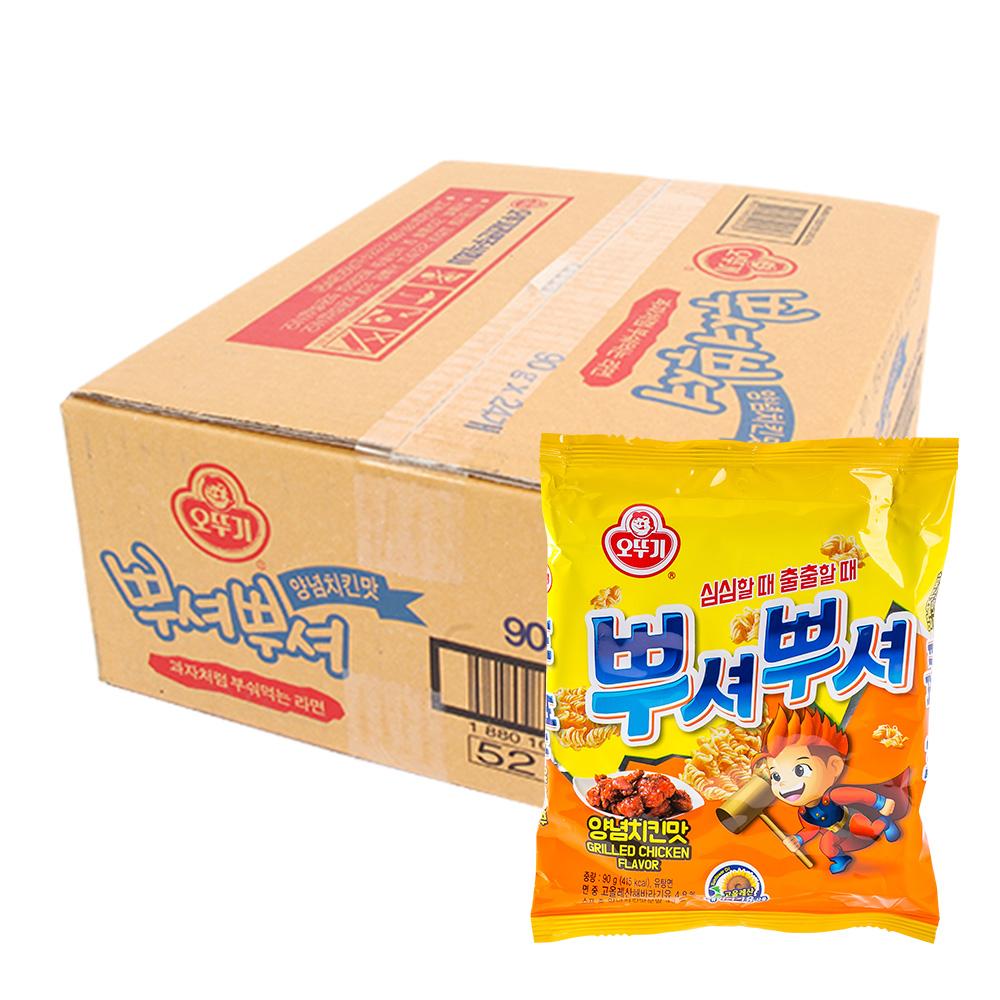 오뚜기 뿌셔뿌셔(양념치킨)90g(24개)이식사