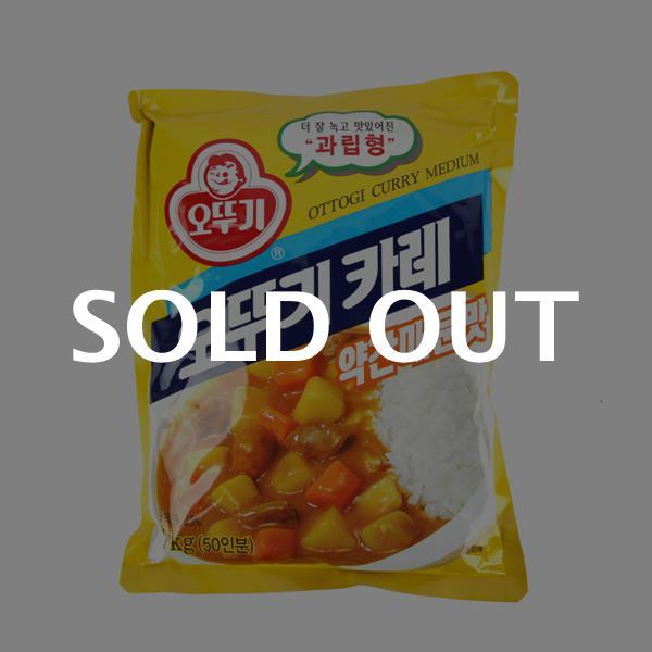오뚜기 카레(약간매운맛) 1kg이식사