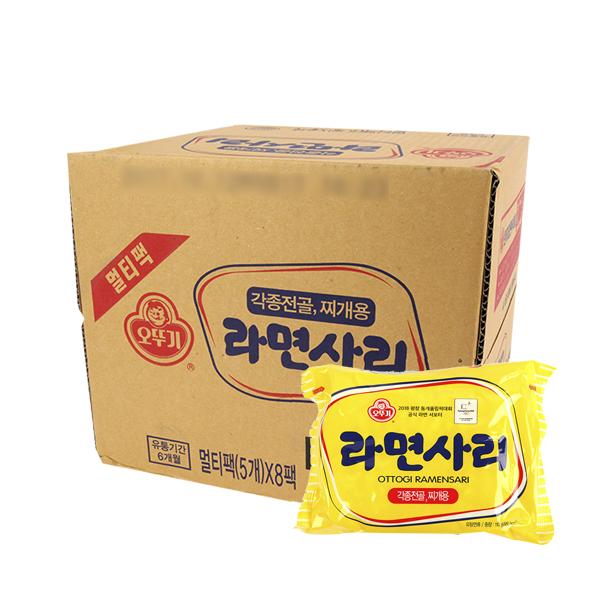 오뚜기 라면사리110g(40개)이식사