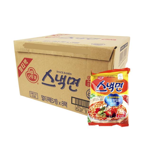 오뚜기 스낵면108g(40개)이식사