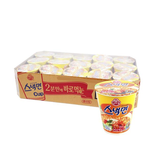 오뚜기 스낵면소컵62g(15개)이식사