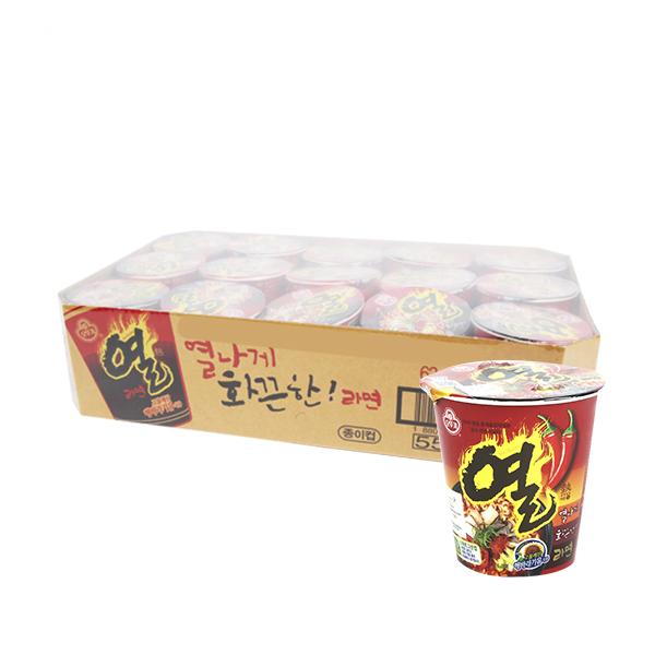 오뚜기 열라면소컵62g(15개)이식사
