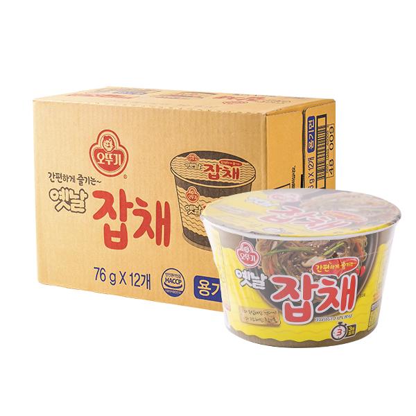 오뚜기 옛날잡채용기 74.5g(12개)이식사