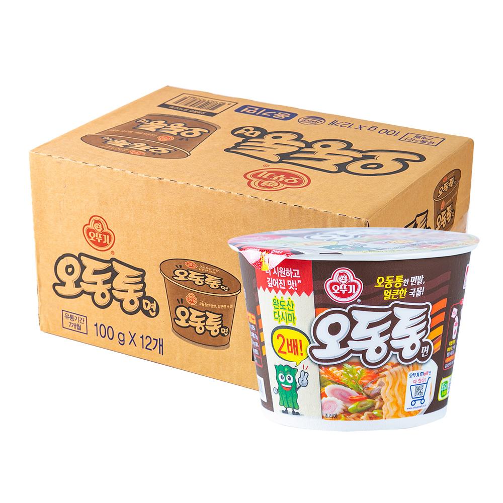 오뚜기 오동통면큰컵100g(12개)이식사