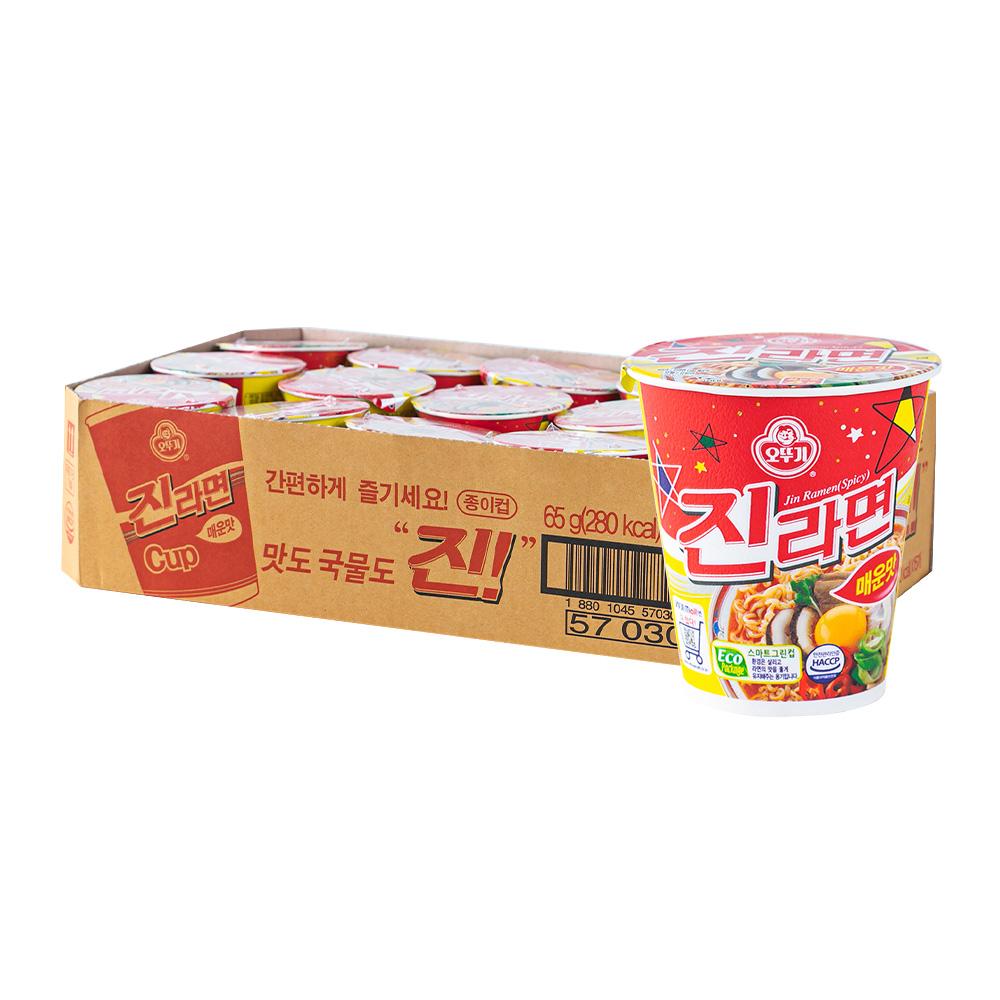 오뚜기 진라면소컵(매)65g(15개)이식사