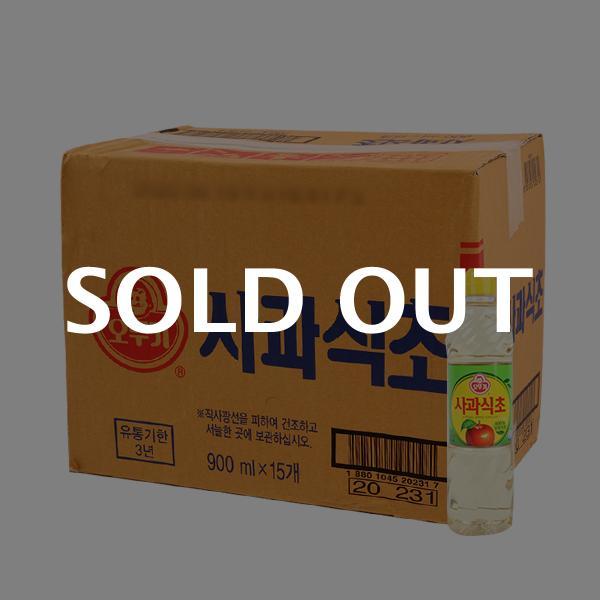 오뚜기 사과식초900ml(15개)이식사