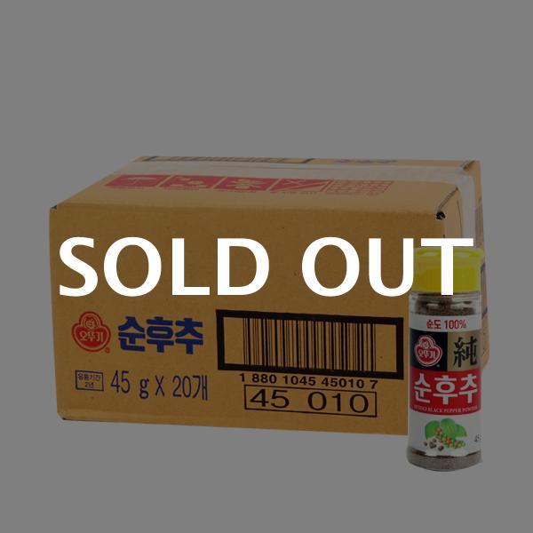 오뚜기 순후추(병)45g(20개)이식사