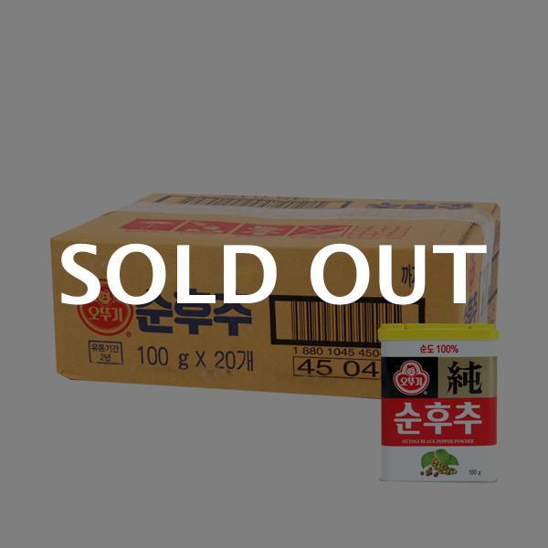 오뚜기 순후추(캔)100g(20개)이식사