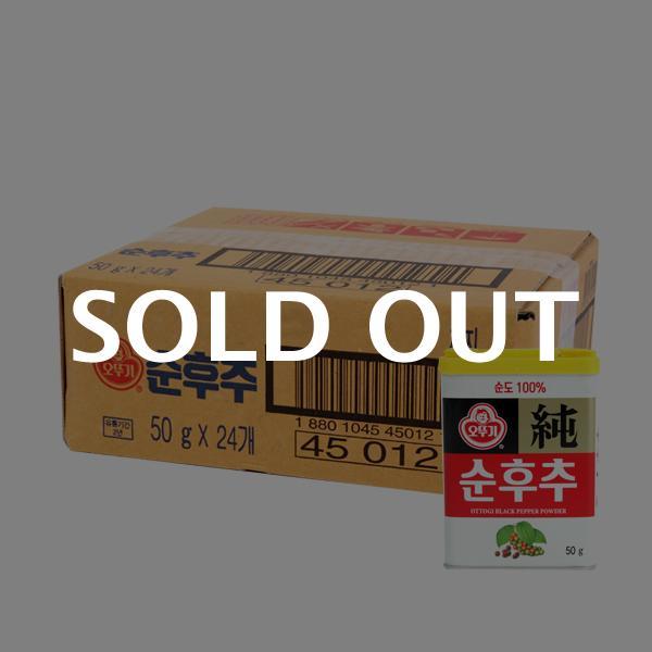 오뚜기 순후추(캔)50g(24개)이식사