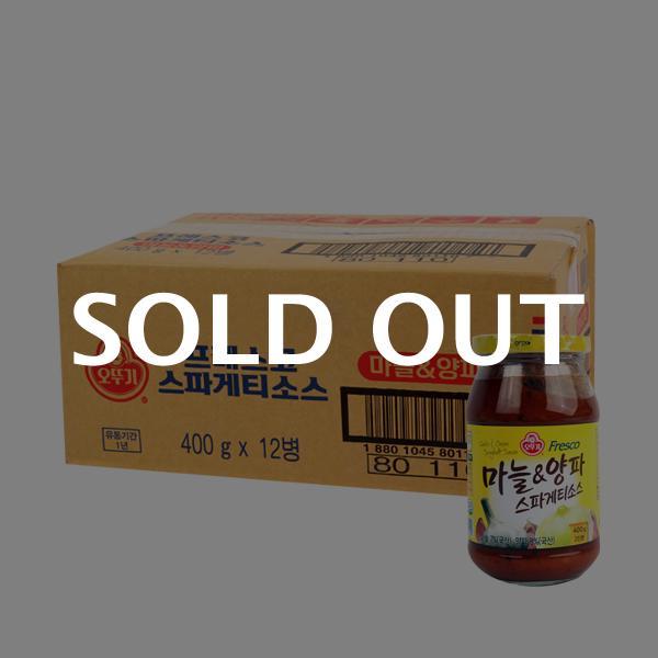 오뚜기 스파게티소스마늘양파400g(12개)이식사