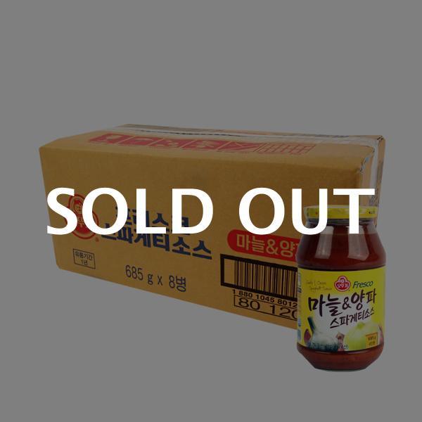 오뚜기 스파게티소스마늘양파685g(8개)이식사