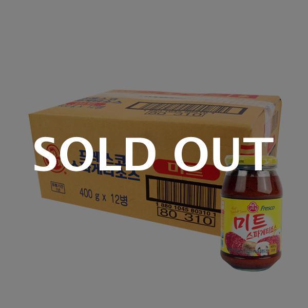 오뚜기 스파게티소스 미트400g(12개)이식사