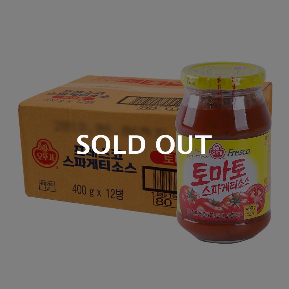 오뚜기 스파게티소스 토마토400g(12개)이식사